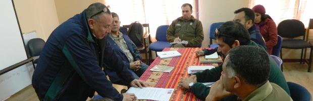 Mesa de fiscalización forestal de Arica y Parinacota planifica trabajo conjunto