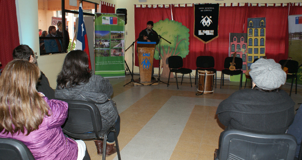 En la oportunidad los alumnos presentaron una obra de teatro, donde se llamaba a la población a reciclar y a cuidar el medio ambiente.