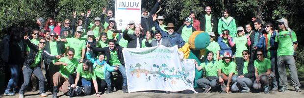 Voluntarios comenzaron a trabajar en el Parque Nacional La Campana