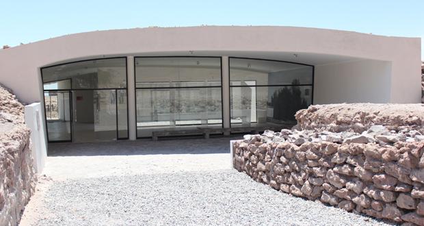 Museo de Sitio de Geoglifos de Pintados, ubicado en la Reserva Nacional Pampa del Tamarugal.