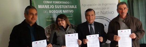 Corral contará con asesoría y financiamiento para manejar el bosque nativo