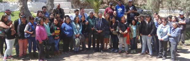 Subsecretario de Agricultura recorre los proyectos CONAF en provincia del Huasco