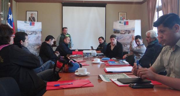 La instancia agrupa en esta ocasión a la Gobernación Provincial, Carabineros de Chile, PDI, SAG, INDAP, CONAF, Servicios de Impuestos Internos y Seremi  de Agricultura, entre otros.