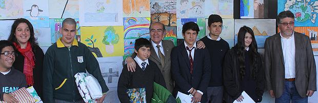 CONAF premió a ganadores de concurso escolar 'El Bosque es Vida y Trabajo'