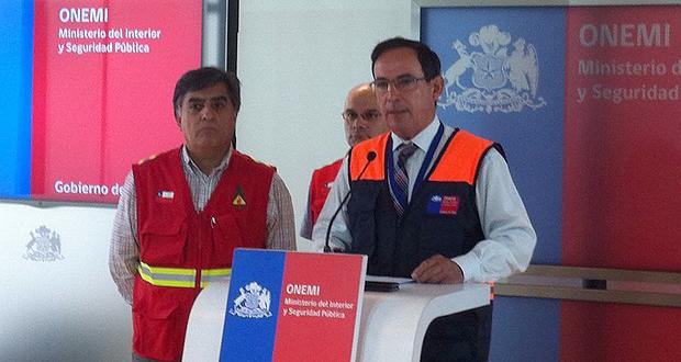 ONEMI Y CONAF entregan balance de incendios forestales en zona centro del país.