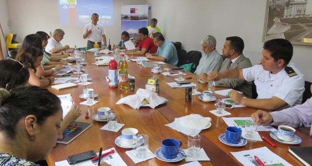 """Primera sesión del año de la """"Mesa técnica regional de prevención de incendios forestales"""", tuvo lugar en dependencias de la Cordap."""