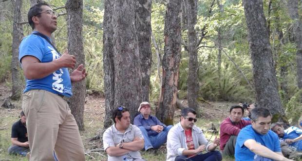 La cita se desarrolló en la Región de La Araucanía abarcando, tres sesiones en formato seminario realizadas en Temuco y dos jornadas de terreno en la Reserva Nacional China Muerta.