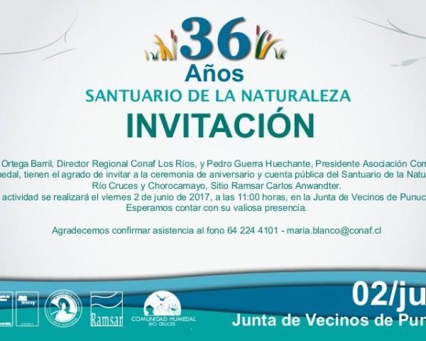 Invitación Rio Cruces