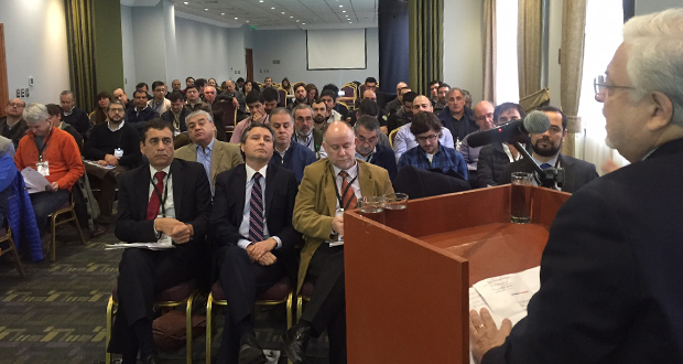 La inauguración del evento estuvo a cargo del rector subrogante de la UFRO, Rubén Leal.
