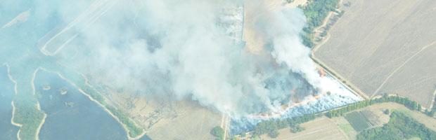 Agricultores de Arauco participaron en seminario sobre alternativas al uso del fuego