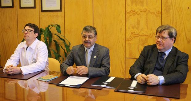 En los salones de la Universidad San Sebastián en Puerto Montt se firmó un importante convenio de colaboración.