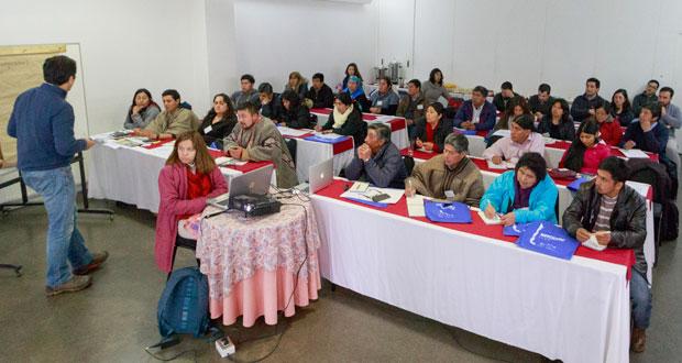 En la comuna de Temuco se realizó el primero de siete talleres participativos para recoger la mirada de líderes y sabios indígenas vinculados a los recursos vegetacionales.