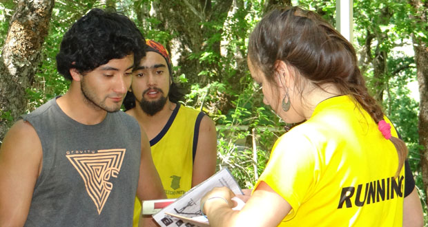 Estudiantes de la Universidad Mayor ejecutaron el proyecto, durante más de dos semanas, sobre rendimiento y recuperación física.