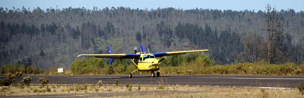 Nuevo avión ayuda a determinar intencionalidad de incendios en Valparaíso