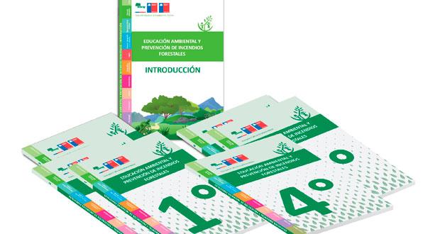 Los docentes que participan en el taller se les entrega un set de seis guías, por cada nivel de 1° a 6° básico, más una guía introductoria.