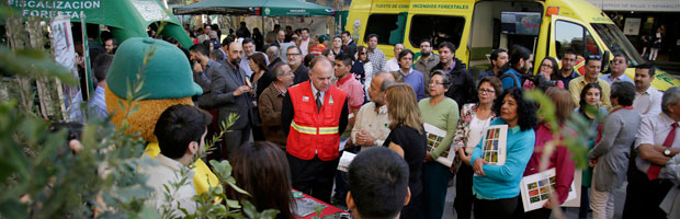 """Ministro Walker: """"Vamos a estudiar en profundidad a CONAF para poder darle a Chile un sector forestal muy potente"""""""