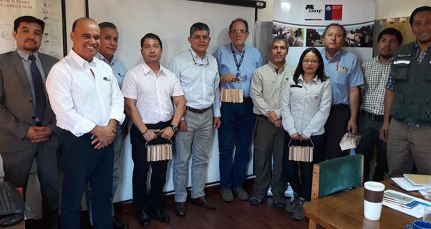 CONAF sostuvo una reunión con  Aduana y SAG, con los cuales se acordó generar un protocolo común de trabajo, en especial con la atención en los controles fronterizos.