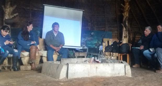 En la ruka de la comunidad de Llaguepulli, comuna costera de Teodoro Schmidt, CONAF Araucanía participó del cierre del proyecto del Fondo de Protección Ambiental, donde aportó con 3.500 plantas nativas y asesoró en la mantención de viveros comunitarios.