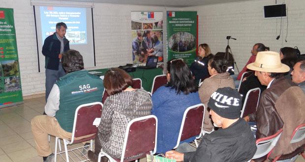 La jornada de capacitación fue coordinada a través de los prodesal de Alhué y Melipilla.
