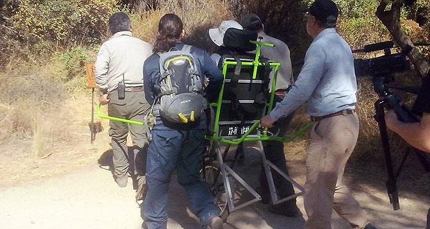 Se probó de manera exitosa el uso del monociclo Joellettes en la Reserva Nacional Río Clarillo, Región Metropolitana, para personas que presenten alguna discapacidad física y movilidad reducida.