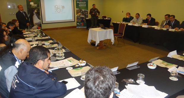 Primera sesión del año 2018 de la Mesa de Fiscalización Forestal y Ambiental de la Región de Valparaíso.