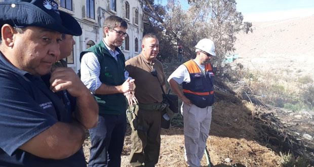 El director de CONAF Región de Tarapacá, Juan Ignacio Boudon, presentó una querella criminal contra quienes resulten responsables por el delito de incendio forestal que afectó a la localidad de Mamiña, comuna de Pozo Almonte.