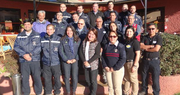 En Olmué se llevó a cabo una capacitación que permitió certificar a los primeros seis instructores nacionales del nivel avanzado del SCI.
