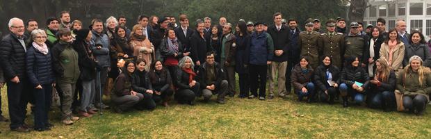Con reconocimiento a jóvenes investigadores desarrolló cuenta pública RN Río Clarillo