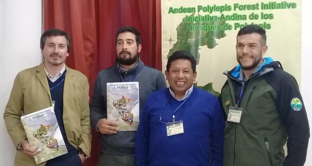 Primer Taller multinacional de conservación y recuperación de los bosques de Polylepis en los Altos Andes efectuado en Cuzco.