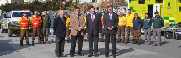 CONAF cuenta con nuevos vehículos y drones para incendios en región de Valparaíso
