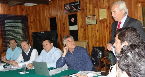 En el Monumento Natural Cerro Ñielol de Temuco sesionó la comisión temática Bosque Nativo del Consejo de Política Forestal.