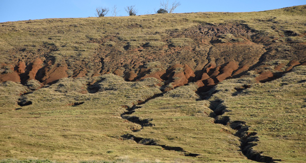 La erosión del suelo, según la información entregada por su edil, afecta al 70 % de la superficie de la isla.