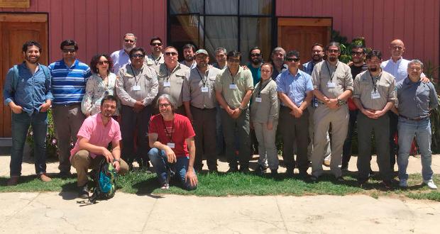 En la actividad, realizada en Olmué, participaron guardaparques representantes de diferentes regiones, con especial énfasis en la Región de La Araucanía.