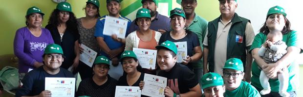 CONAF lleva tres comunidades preparadas ante incendios forestales en Arica y Parinacota