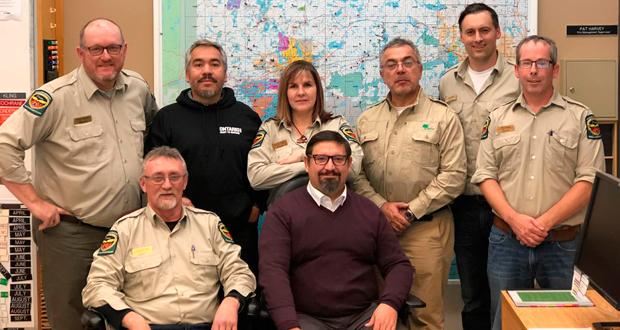 Dos profesionales de CONAF se encuentran en Winnipeng cumpliendo una misión de fortalecimiento de experiencias con sus pares de Canadá en materia de emergencias de incendios forestales.