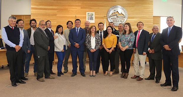 La Intendente de Aysén, Geoconda Navarrete Arratia, agradeció el apoyo de los Consejeros Regionales señalando la importancia que tiene CONAF en el territorio regional.