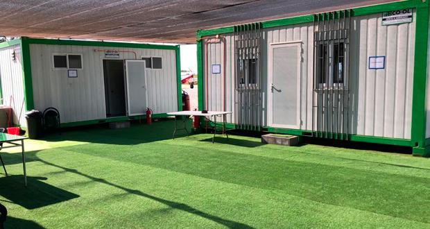 Mc Namara visitó el recinto para inspeccionar desde la habitabilidad hasta los procedimientos aéreos, siendo destacada la labor operacional en su integralidad.