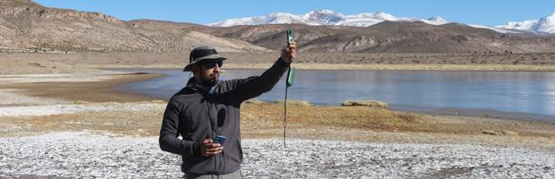 CONAF implementa programa de monitoreo de humedales en Parque Nacional Volcán Isluga