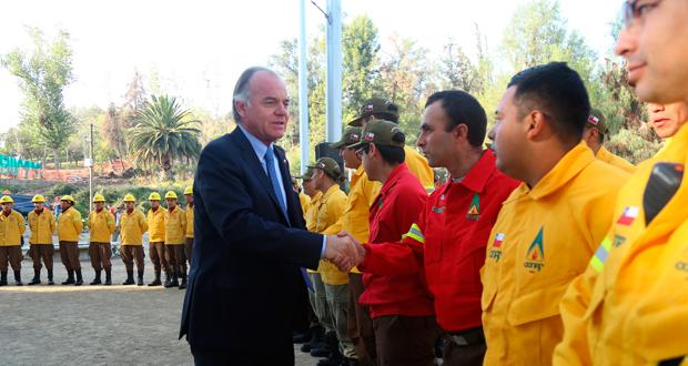 La actividad se realizó en el Parque Metropolitano y fue encabezada por el Ministro de Agricultura, Antonio Walker.