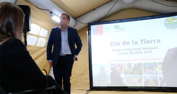 Intendente Sergio Giacaman anunció que se está avanzando rápidamente en la recategorización de esta reserva nacional para transformarla en parque nacional.