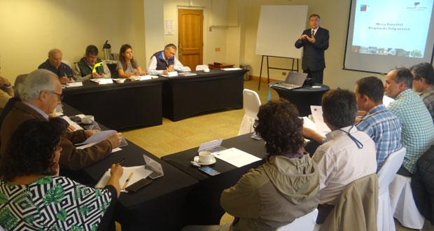 Décimo tercera sesión de la Mesa Forestal de la Región de Valparaíso.