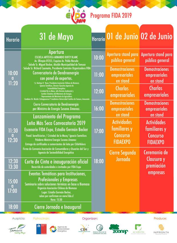 Programa Expo FIDA 2019