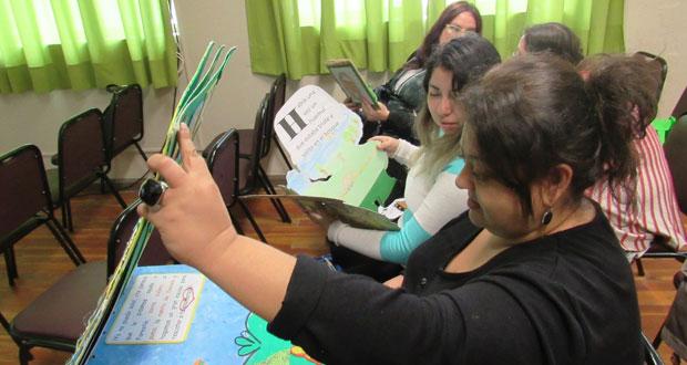 Taller estuvo dirigido a profesores y educadoras de las quince escuelas municipales de Chillán que participan del Programa de Educación Ambiental CONAF.