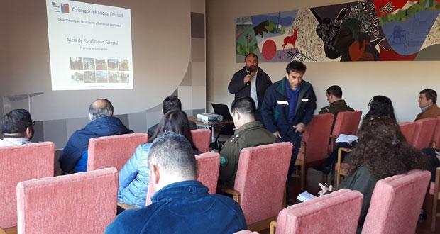 Mesa Provincial Concepción de Fiscalización Forestal y Ambiental estableció un calendario con las distintas acciones a desarrollar durante la temporada otoño e invierno.