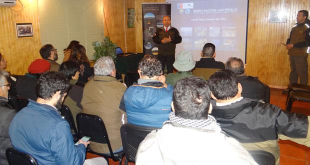 Durante la cuenta pública, Salazar contó que CONAF y la Municipalidad de Valparaíso trabajan desde el año 2018 en la elaboración de una inédita ordenanza municipal que permitirá  sancionar a las personas que transgredan las normativas internas de la reserva nacional.