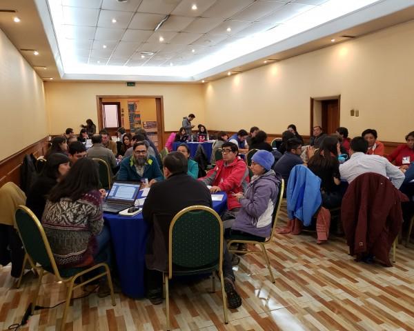 Mediante presentaciones, actividades grupales y participativas se recogieron las aprensiones, opiniones y visiones respecto al avance en las distintas etapas de la ENCCRV de quienes asistieron a las reuniones.