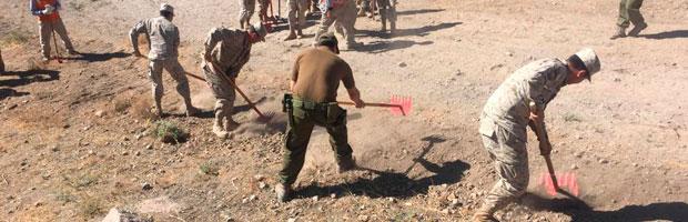 CONAF capacita y renueva Brigada del Ejército para combatir incendios forestales