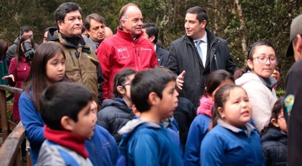 El Ministro Walker destacó el trabajo que está haciendo el Minagri en materia de parques nacionales.