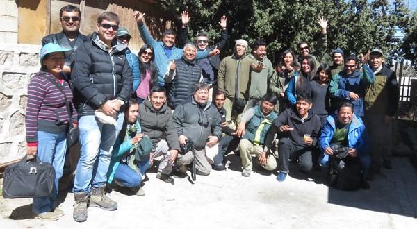 Taller internacional de restauración de bosques de Polylepis en el contexto de cambio climático.