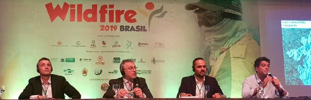 Destacada participación de CONAF en conferencia internacional sobre incendios forestales